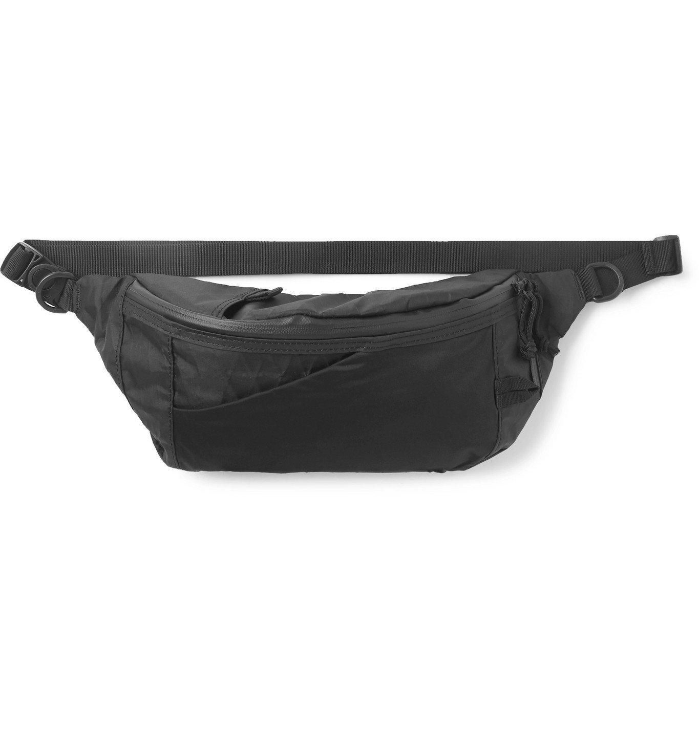 Photo: Snow Peak - X-Pac Nylon Belt Bag - Black