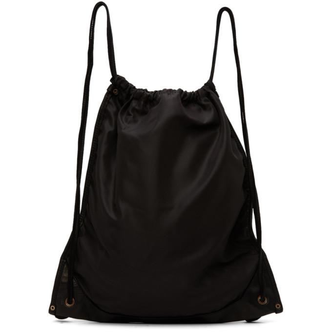 Photo: Guidi Black Drawstring Backpack