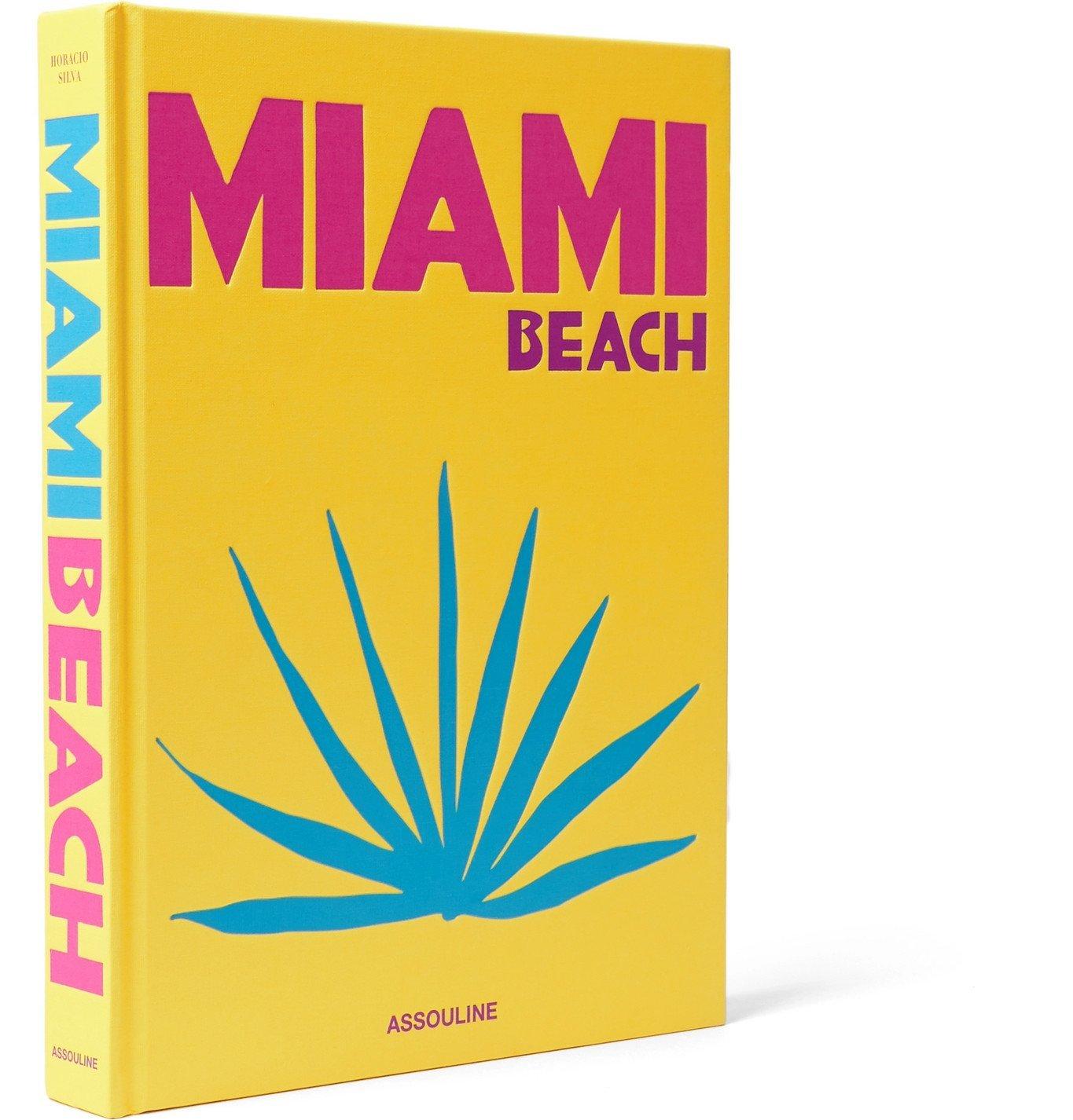 Photo: Assouline - Miami Beach Hardcover Book - Yellow