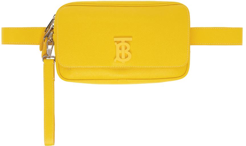 Photo: Burberry Yellow TB Monogram Teddy Bag