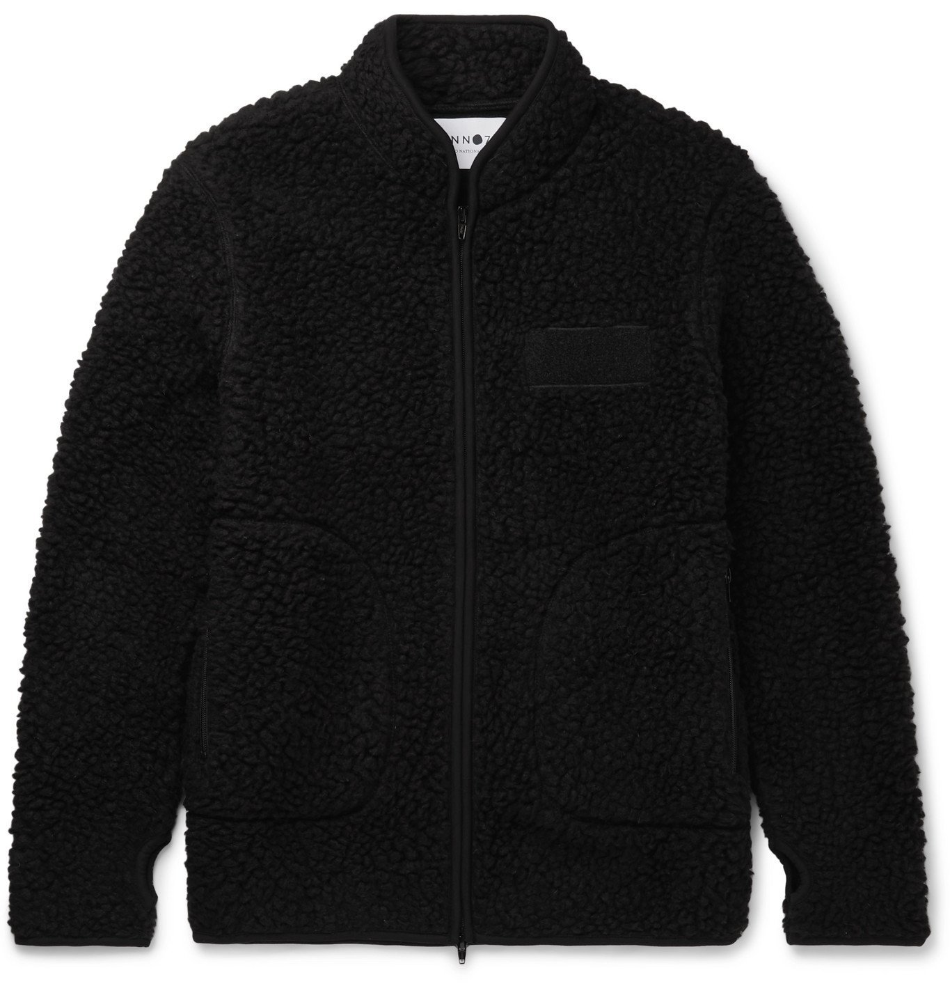 Photo: NN07 - Mort Fleece Jacket - Black