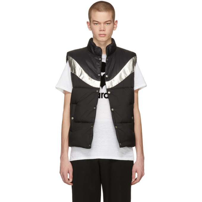 Photo: Isabel Marant Black and Silver Dream Puffer Vest