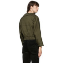 3.1 Phillip Lim Green Stand Collar Jacket