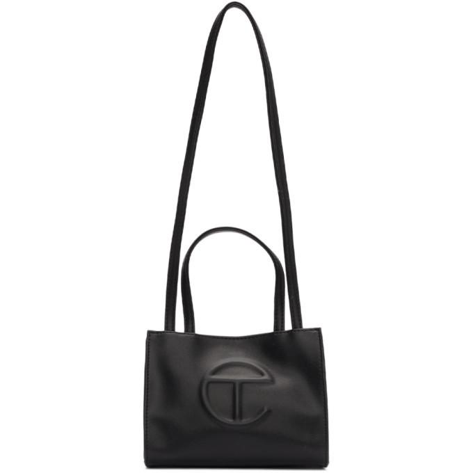 Photo: Telfar Black Small Shopping Bag