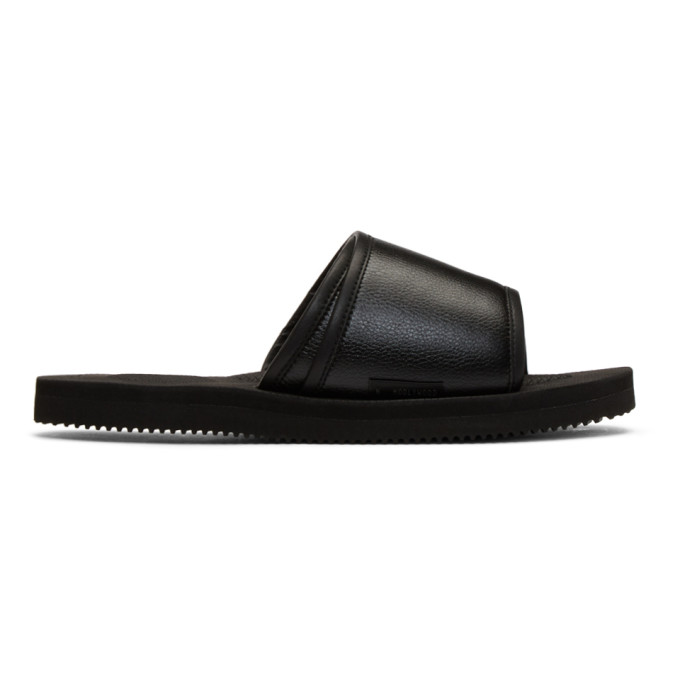 Photo: N.Hoolywood Black Suicoke Edition Slides