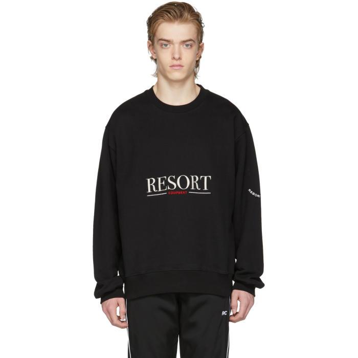 Photo: Resort Corps Black Equipment Sweatshirt