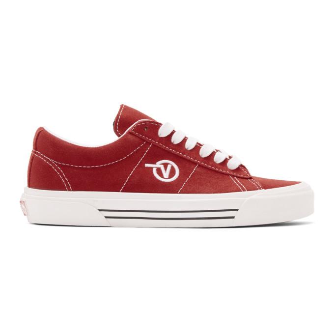Photo: Vans Red Anaheim Factory Sid DX Sneakers