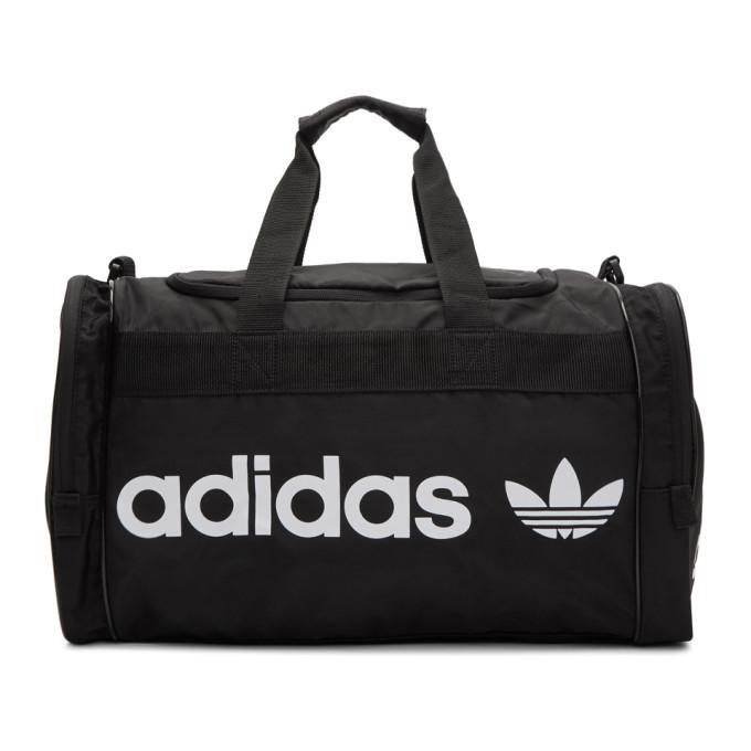 Photo: adidas Originals Black Santiago II Duffle Bag
