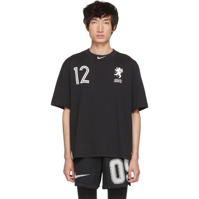 Photo: NikeLab Black Off-White Edition M NRG Carbon T-Shirt