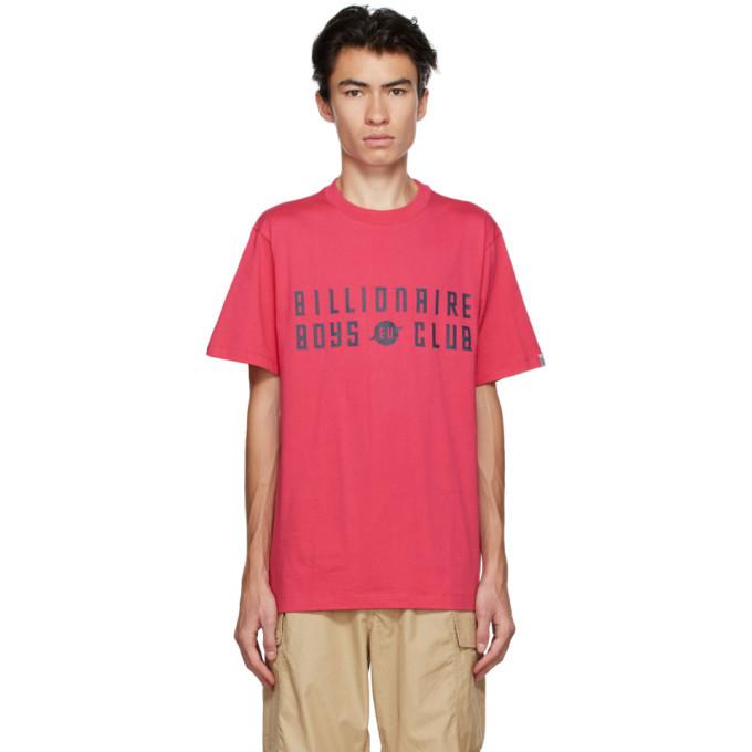 Photo: Billionaire Boys Club Pink EU Logo T-Shirt