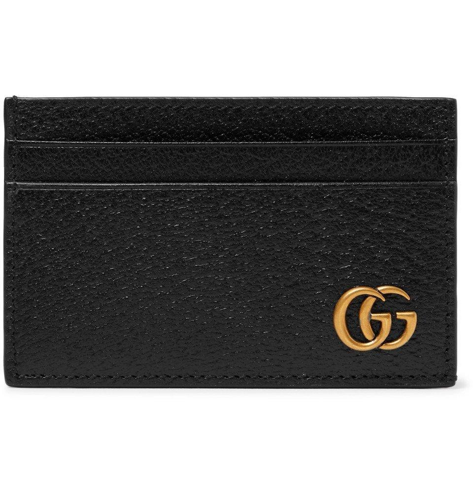 Photo: Gucci - Marmont Full-Grain Leather Cardholder - Black