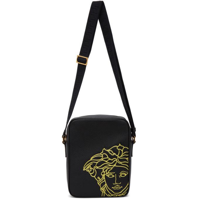 Photo: Versace Black Pop Medusa Crossbody Bag