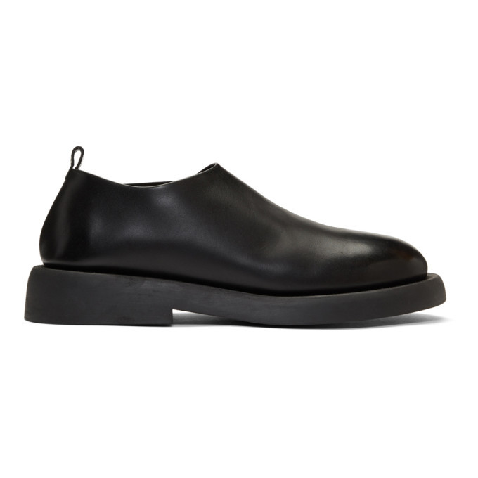 Photo: Marsell Black Leather Loafers