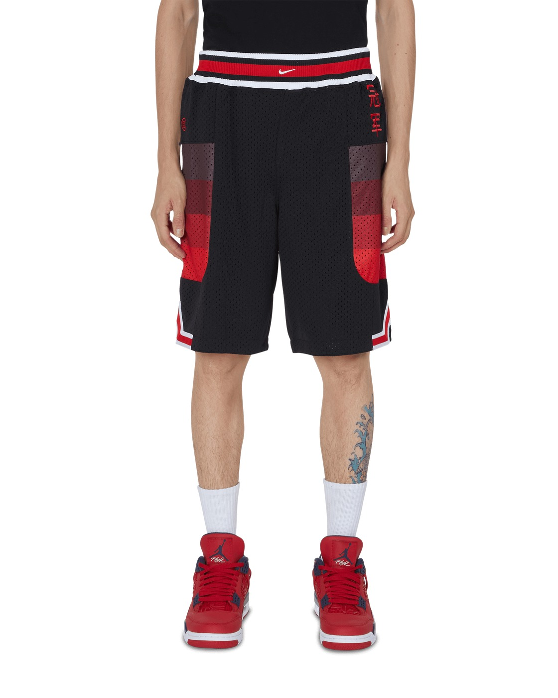 Nike Special Project Clot Ge Mesh Shorts Black/University Red