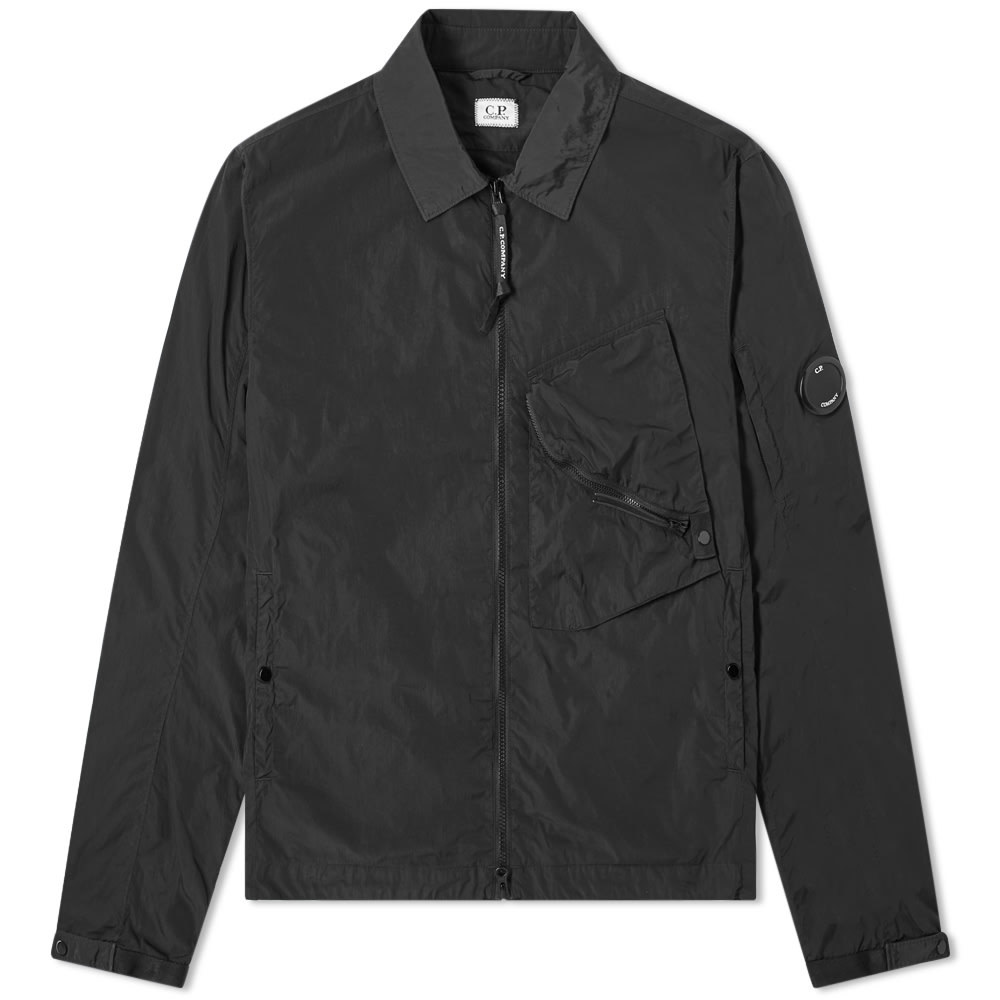 Photo: C.P. Company Arm Lens Chrome Nylon Shirt Jacket