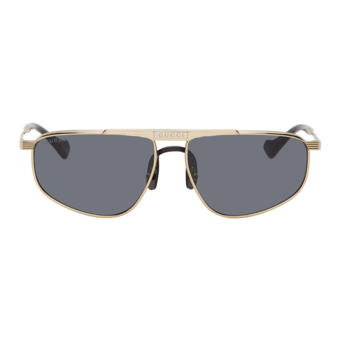 Photo: Gucci Gold GG0841S Sunglasses