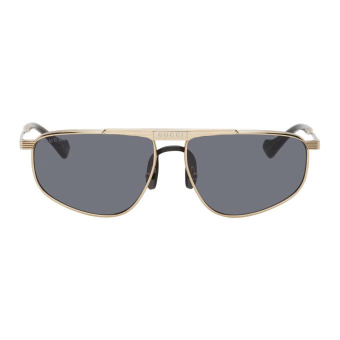Photo: Gucci Gold GG0841S Sunglasses