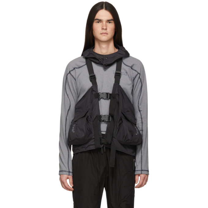 Photo: A-Cold-Wall* Black Gilet Backpack Vest