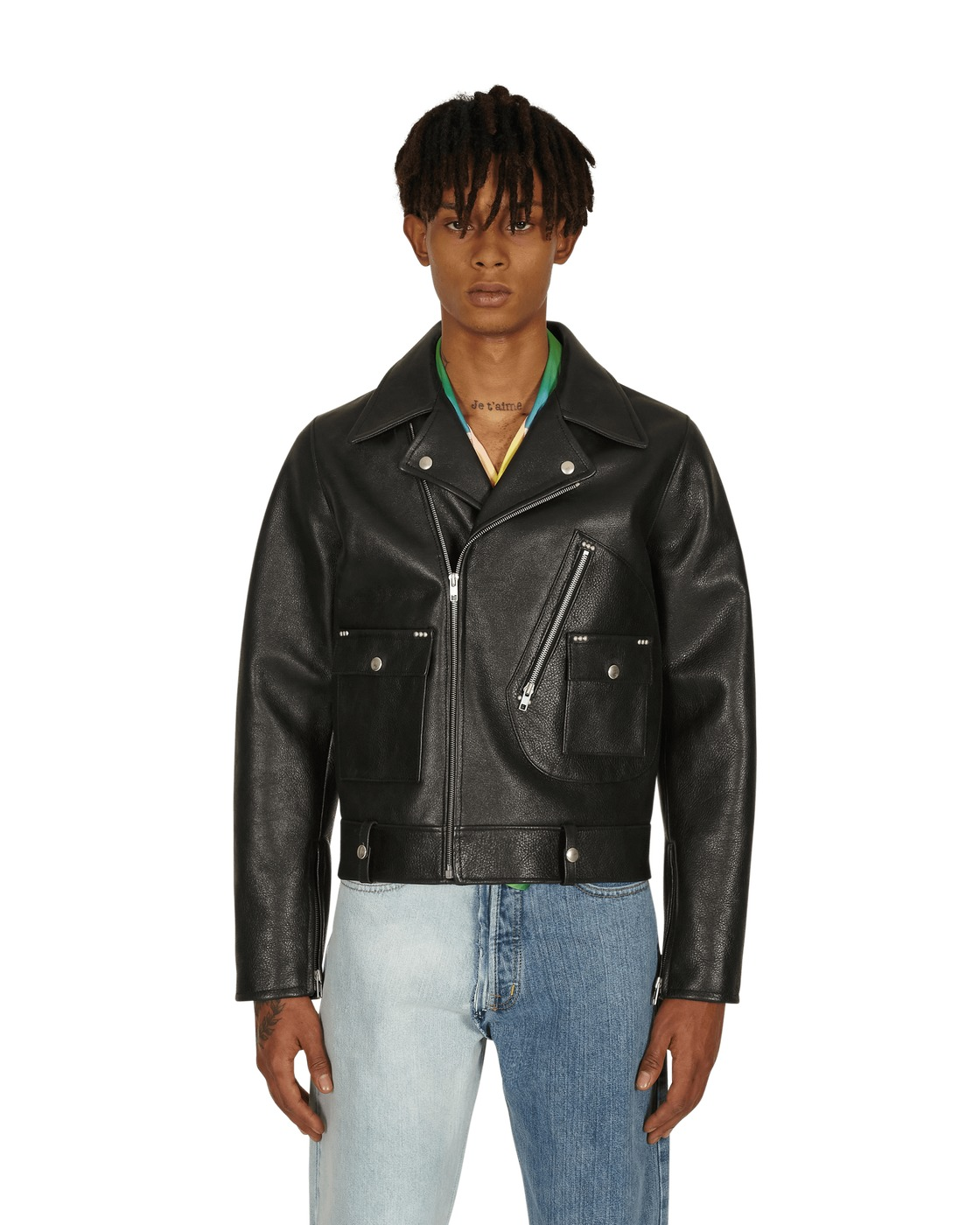 Maison Margiela Leather Jacket Black