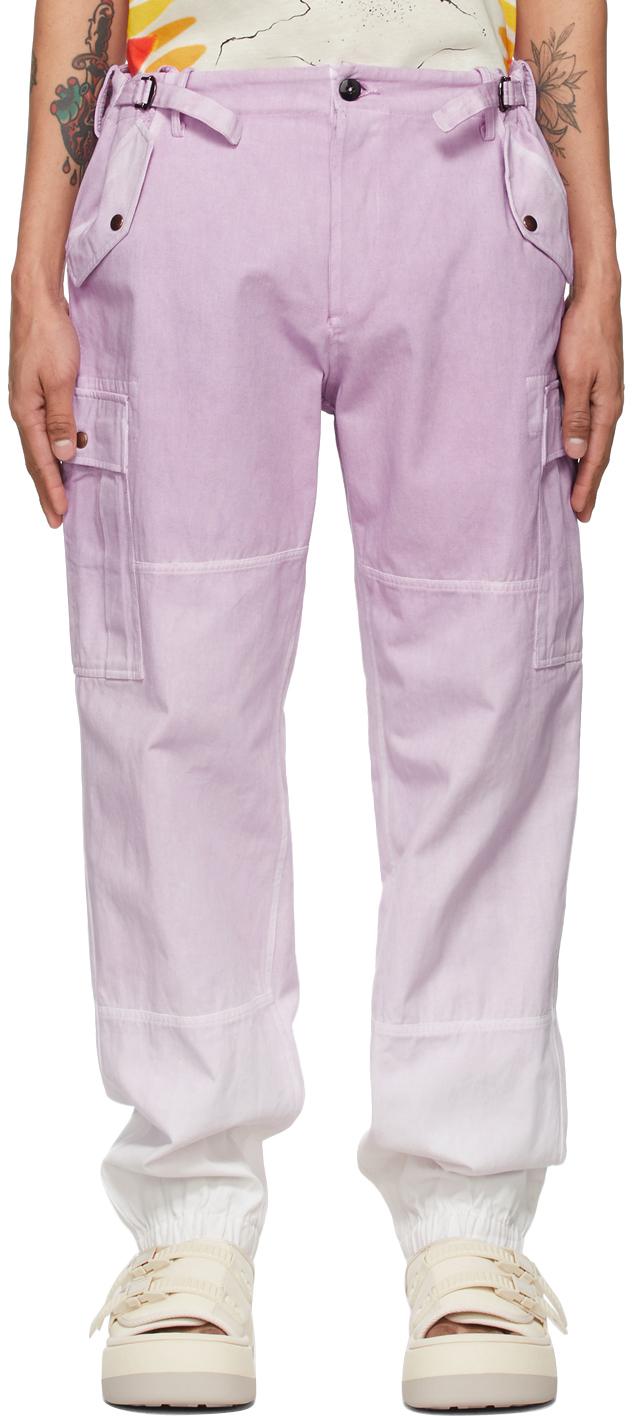 Photo: Faith Connexion Purple Tie & Dye Cargo Pants