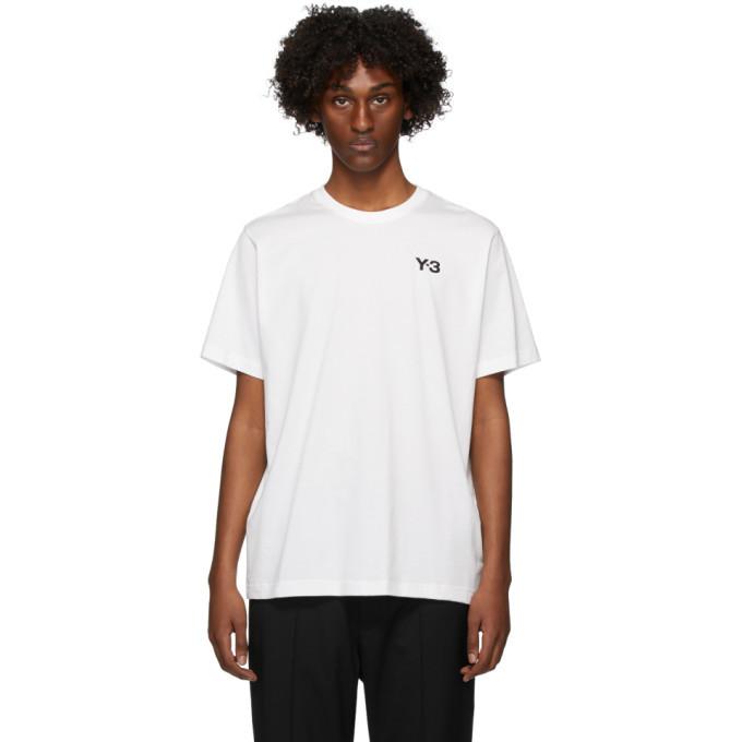 Photo: Y-3 White Graphic T-Shirt