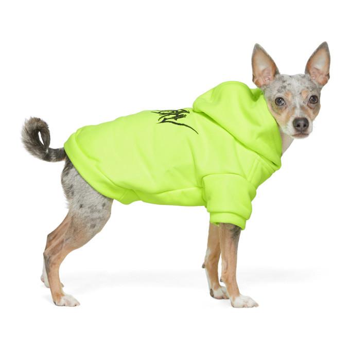 Photo: MISBHV Yellow Goth Dog Hoodie