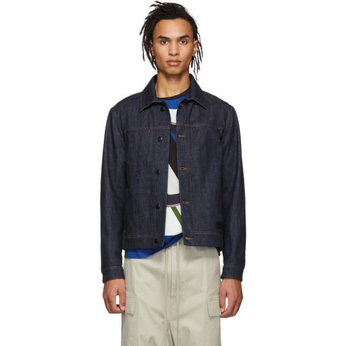 Photo: Moncler Genius 5 Moncler Craig Green Indigo Denim Rock Jacket