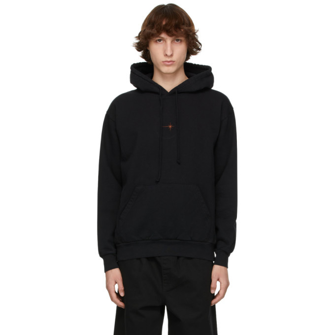 Photo: EDEN power corp Black Recycled Cotton Star Hoodie