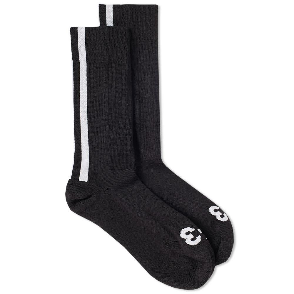 Y-3 Three Stripe Sock Black