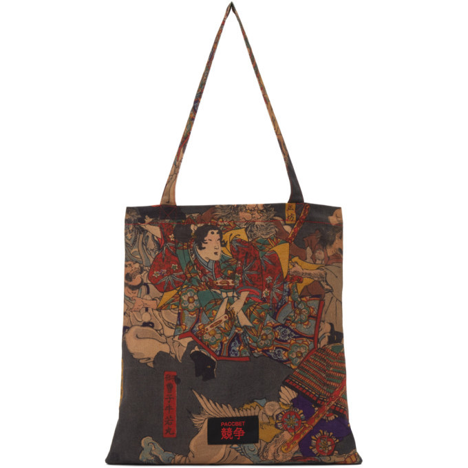 Photo: Rassvet Multicolor Pushkin Museum Edition Tsukioka Yoshitoshi Tote