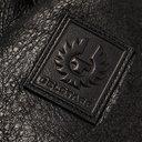 Belstaff - Westlake 2.0 Slim-Fit Leather-Trimmed Shearling Biker Jacket - Black