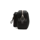 Giorgio Armani Black Nylon Messenger Bag