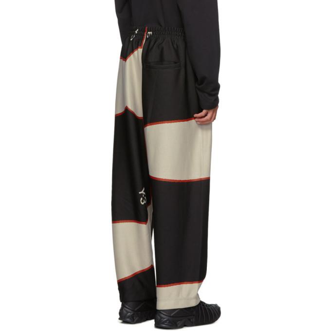Y-3 Black Colorblock Lounge Pants