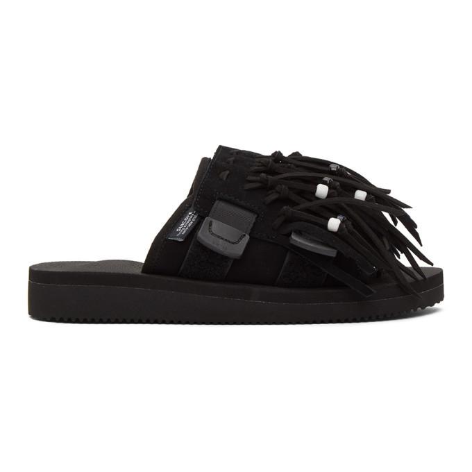 Photo: Suicoke Black HOTO Scab Sandals