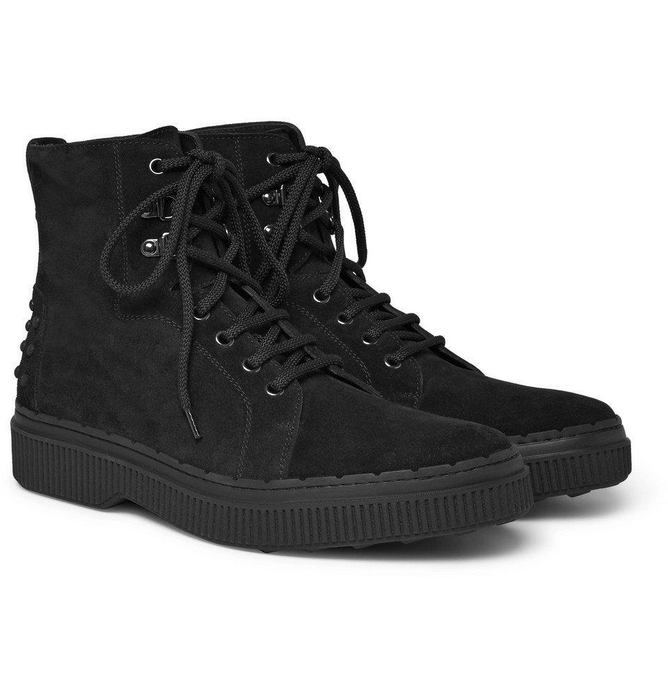 Tod's - Nubuck Boots - Men - Black