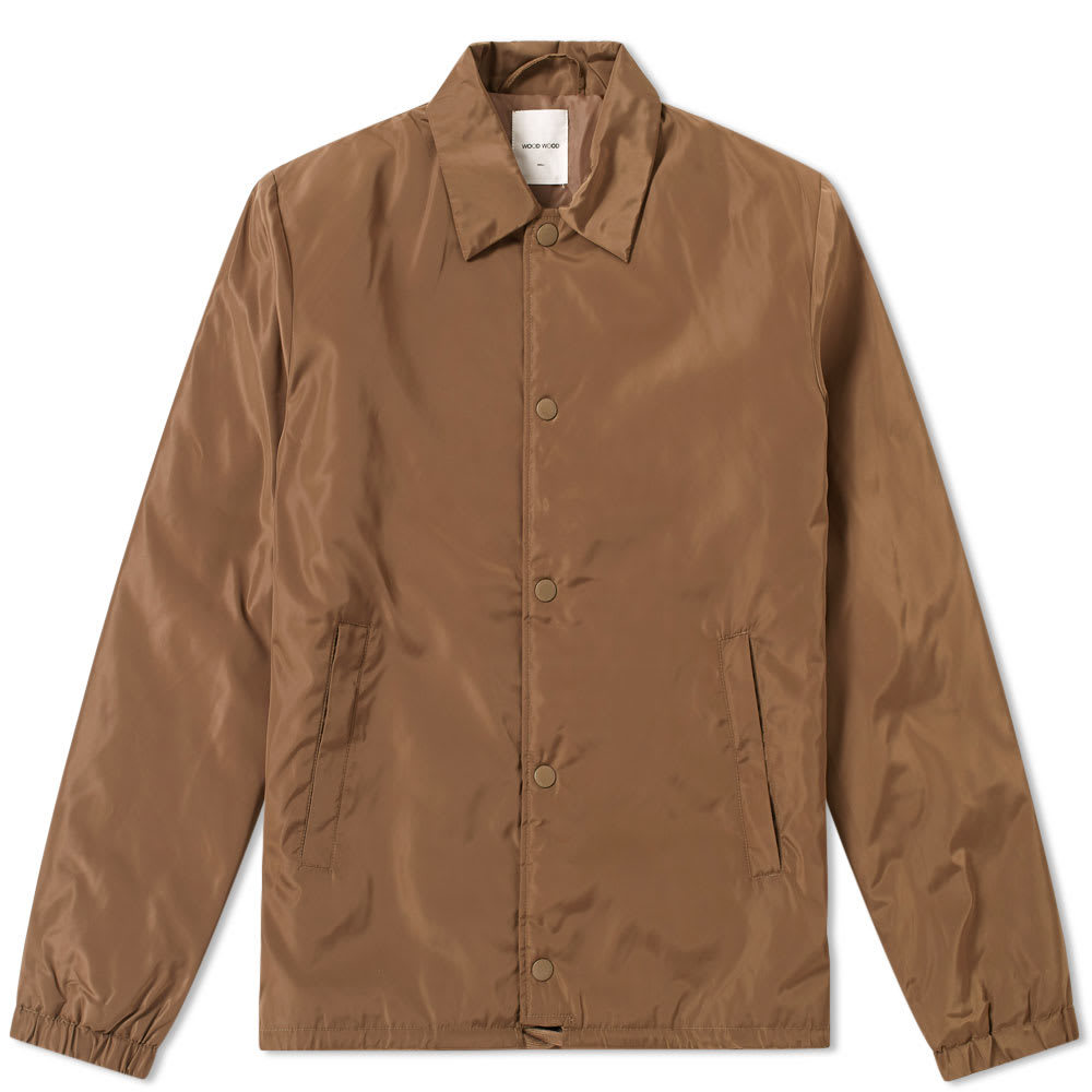 Wood Wood Kael Jacket Green