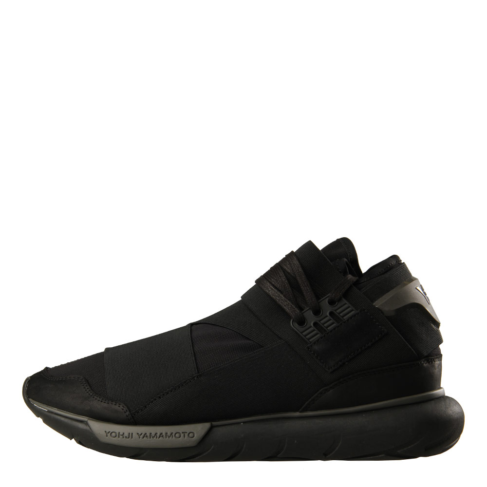 Qasa High Trainers - Triple Black