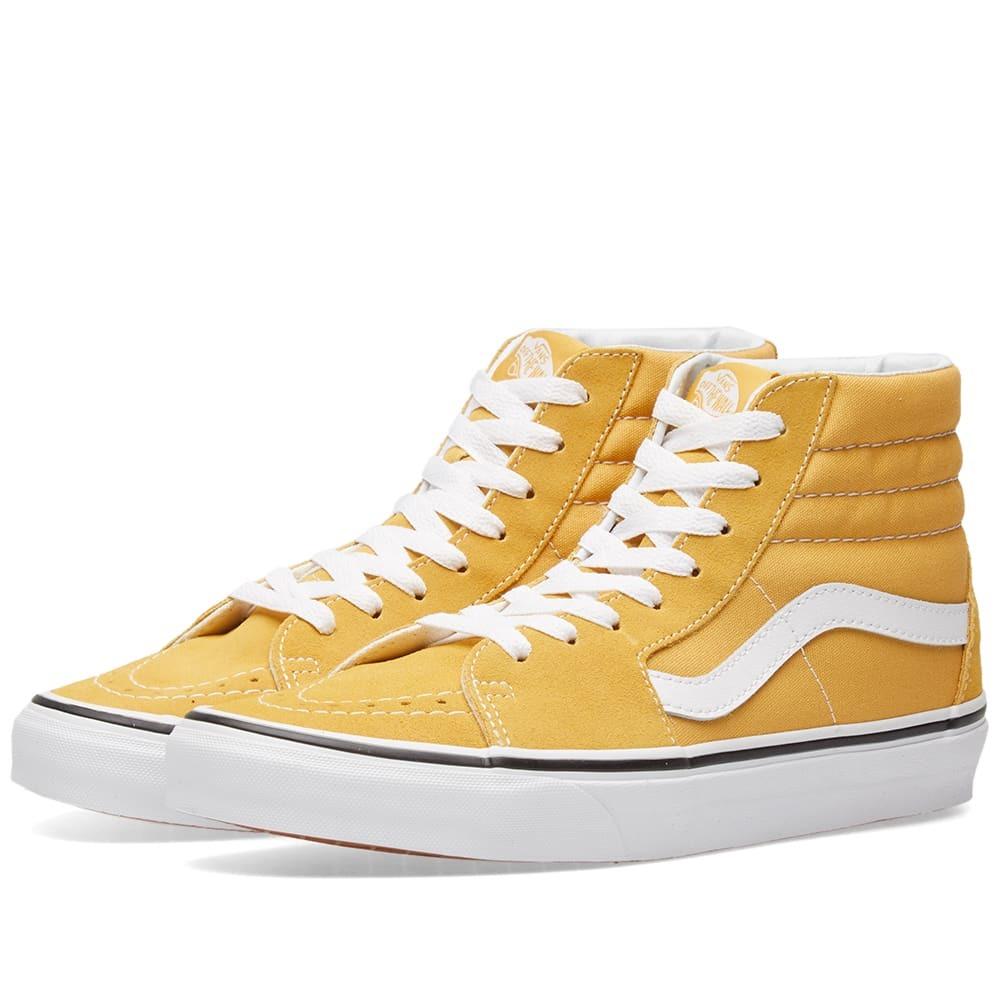 Vans Sk8-Hi Yellow Vans