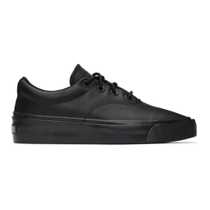 Photo: Converse Black Skid Grip CVO OX Sneakers