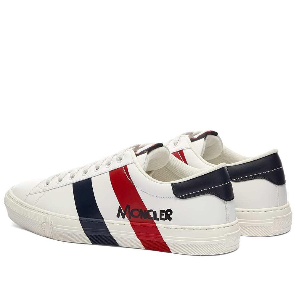 Moncler Montpellier Tricolour Stripe Sneaker