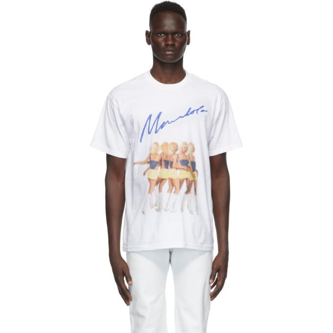 Photo: Mowalola White Logo Graphic T-Shirt