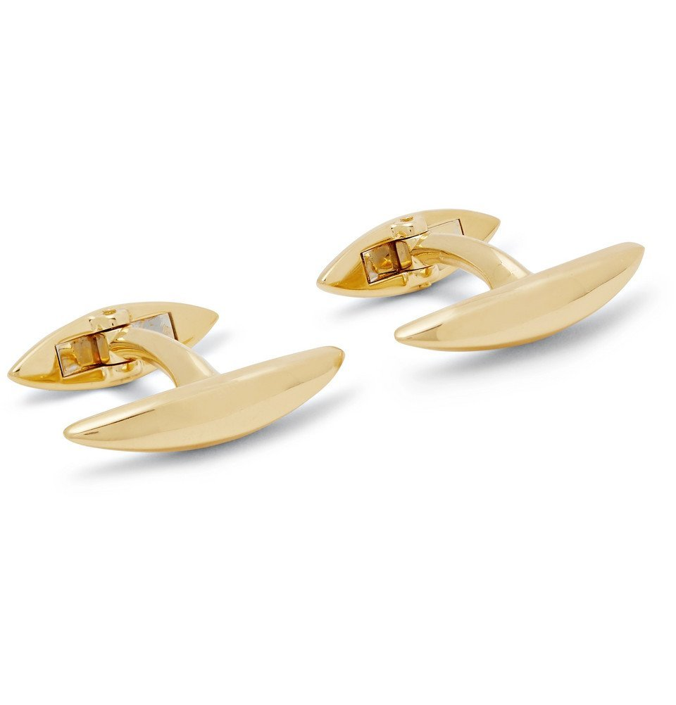 Photo: Shaun Leane - Arc Gold-Plated Cufflinks - Gold