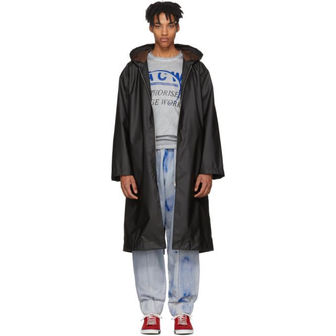Photo: A-Cold-Wall* Black Nylon Raincoat