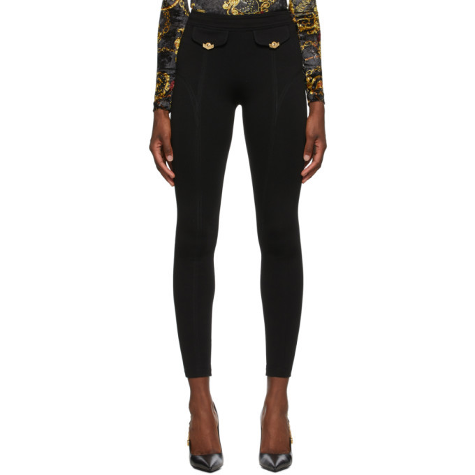 Photo: Versace Jeans Couture Black Skinny Trousers