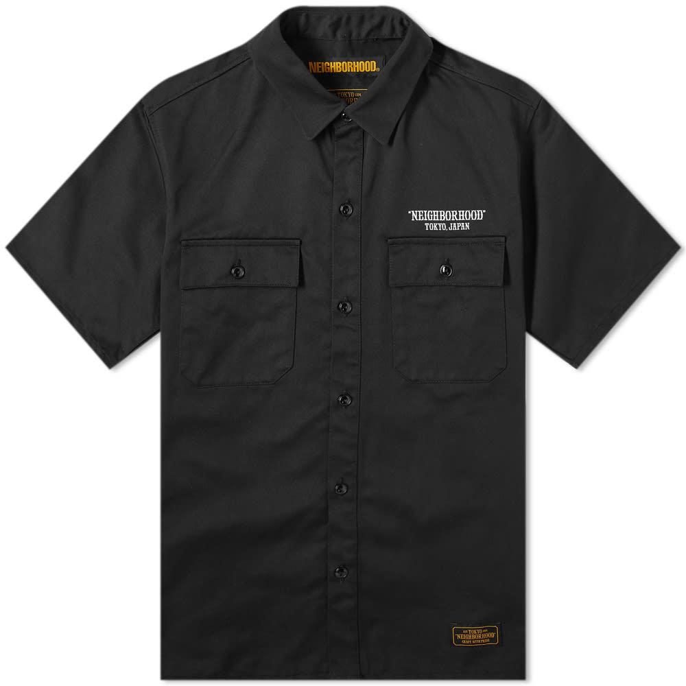 Photo: Neighborhood Short Sleeve Classic Work Shirt