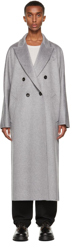 Photo: Max Mara Grey Selina Coat