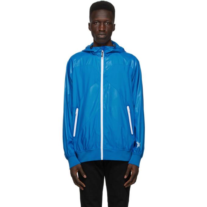 Photo: Kenzo Blue Sport Windbreaker Jacket