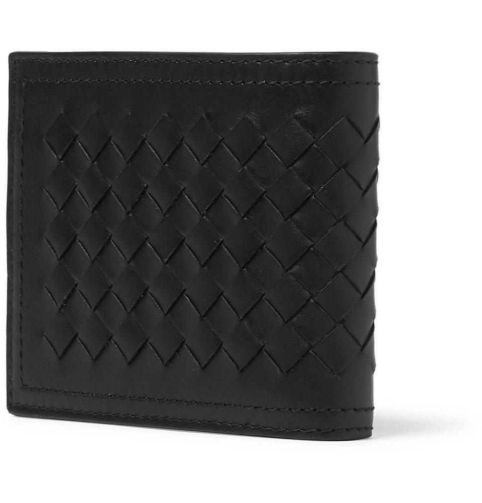 Bottega Veneta - Intrecciato Leather Billfold Wallet - Men - Black