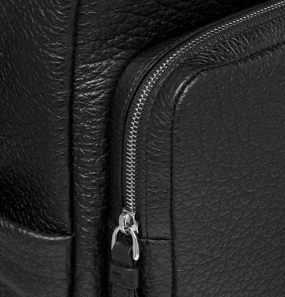 Tod's - Full-Grain Leather Backpack - Black