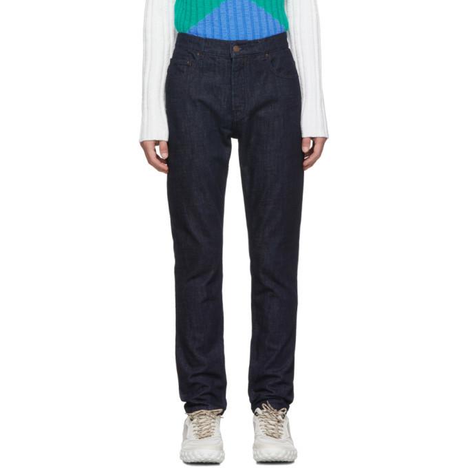 Photo: Kenzo Navy Graphic Pocket Jeans